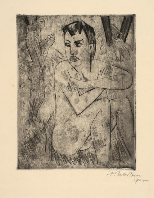 , 'Vergrämt,' 1920, Charles Nodrum Gallery