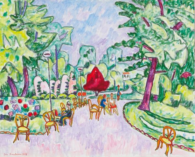 , 'Park in Paris ,' 1958, Galerie Herold