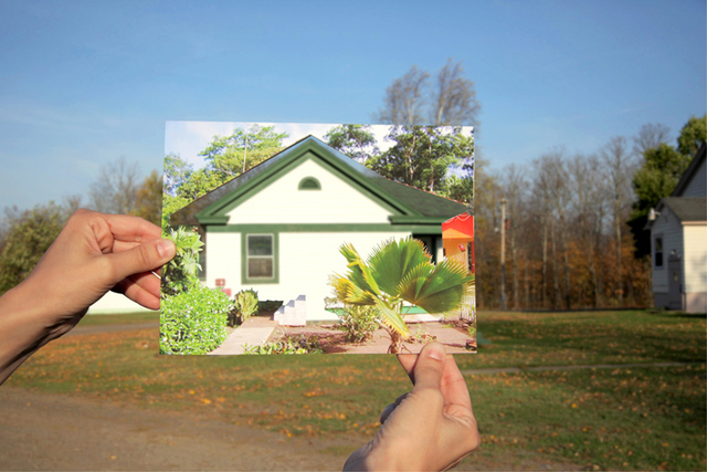 , 'When two places look alike (Belterra, Amazônia/Alberta, Michigan),' 2012, Galeria Luisa Strina