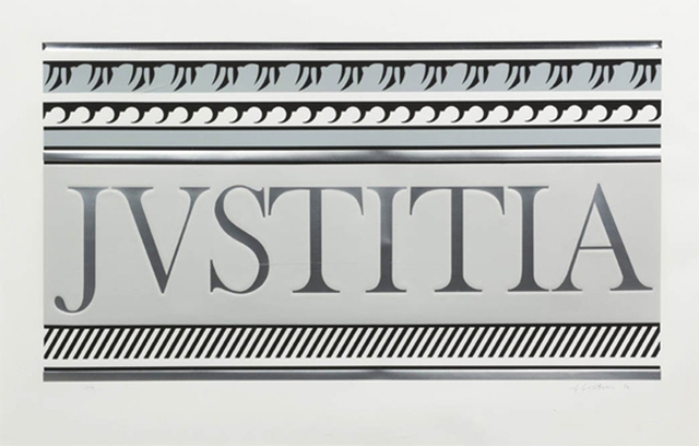 Roy Lichtenstein, 'ENTABLATURE XA', 1979, Print, Screenprint, Lithograph, Collage with Embossing on Rives BFK Paper, Marcel Katz Art
