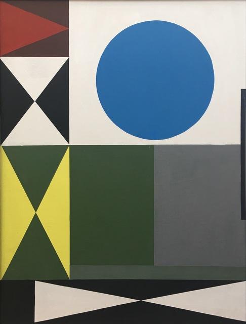 , 'Verde y Gris,' 1970, Leon Tovar Gallery