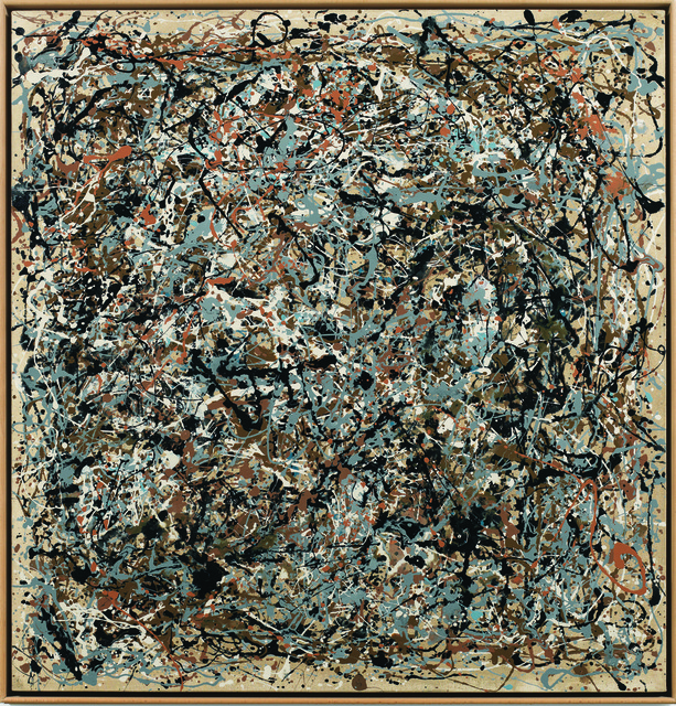 , 'Portrait of V.I. Lenin in the Style of Jackson Pollock VII,' 1980, Museum Dhondt-Dhaenens