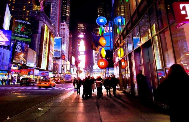 , 'Times Square,' 2015, Bernarducci Meisel Gallery