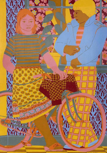 , 'Girl on a Bicycle,' 1980, Tatha Gallery