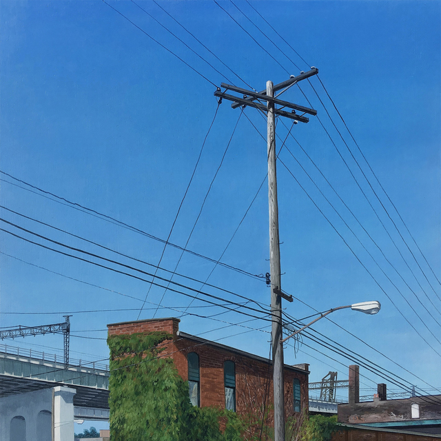 , 'Connected - Cleveland The Flats I,' 2016, The Bonfoey Gallery