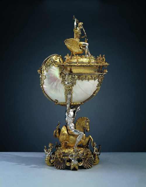 Nikolaus Schmidt, 'Nautilus cup', ca. 1600, Royal Collection Trust