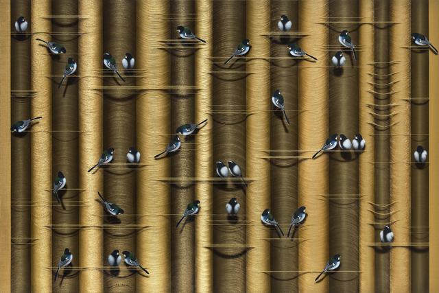Hai Yun Jung, 'Plan B', 2020, Painting, Acrylic on thick mulberry paper, Gana Art