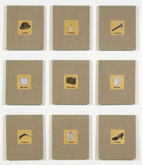 , 'Swatches, Magritte 1-9,' 2007, Feuer/Mesler