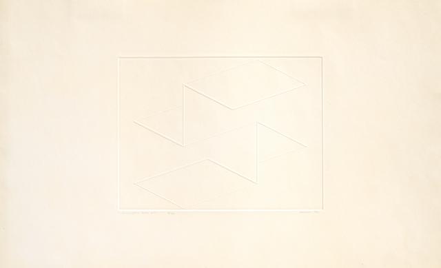 , 'Intaglio Solo XV,' 1962, Alan Cristea Gallery