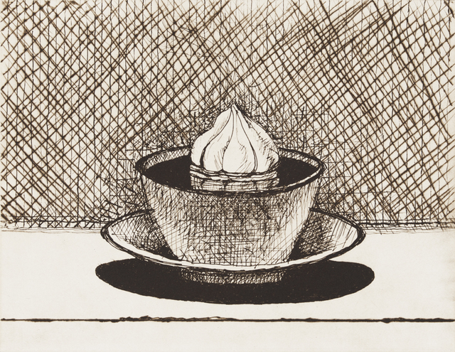 , 'Hot Chocolate,' 2015, Crown Point Press