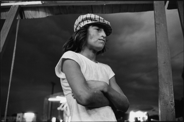 , 'Boy at Carnival, Bernalillo,' 1976, Etherton Gallery
