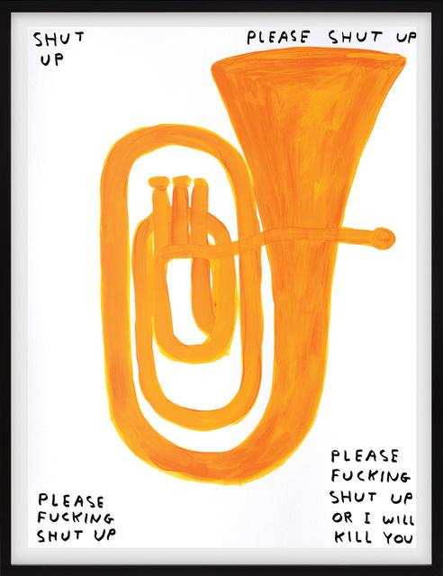David Shrigley, 'Shut Up', 2018, Peter Harrington Gallery