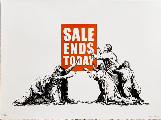 Banksy, 'Sale Ends Today', 2017, Fairhead Fine Art Limited