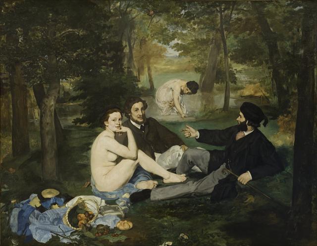 Édouard Manet, 'Luncheon on the Grass (Le Déjeuner sur l'herbe)', 1863, Musée d'Orsay