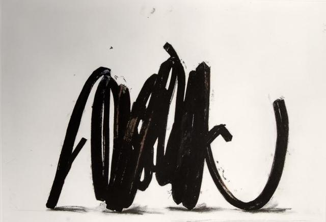 Bernar Venet, 'Two Indeterminate lines', 2014, Galerie Van der Planken