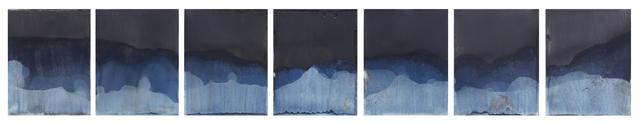 , 'Muybridge Tides #41 (Rapidly Submerged Paper, Lake Allatoona, GA, 05.04.18),' 2018, Jackson Fine Art