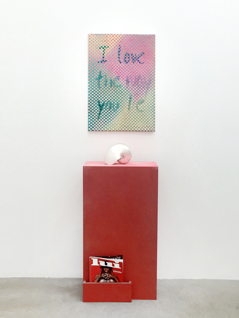 , 'I Love the Way You Lie,' 2016, ANNAELLEGALLERY