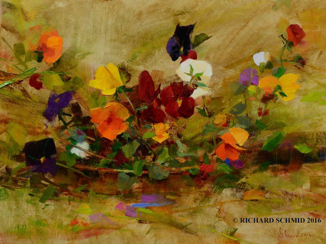 , 'April Pansies,' , Gallery 1261