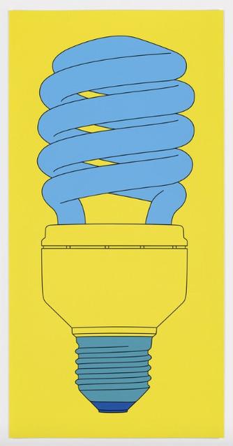 Michael Craig-Martin, 'Bulb', 2016, Print, Screenprint on Somerset Tub Sized 410 gsm paper, Upsilon Gallery