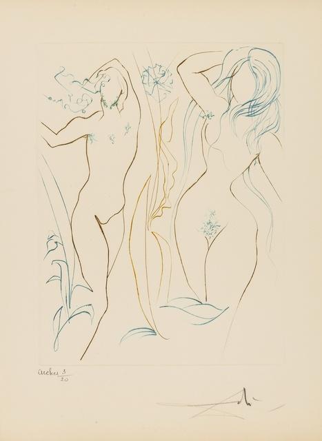 Salvador Dalí, 'Paradis Perdu (M & L 704-713c; Field 74-11)', 1974, Forum Auctions