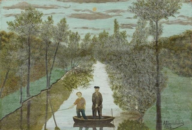 , 'Barque au clair de Lune,' 1923, Jeanne Bucher Jaeger