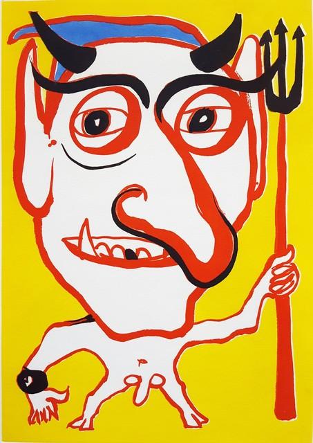 Alexander Calder, 'Portrait of Constantin Tacou', 1974, Graves International Art