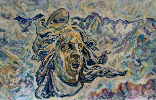 ", '""La Marseillaise"". 2,' 2018, Krokin Gallery"