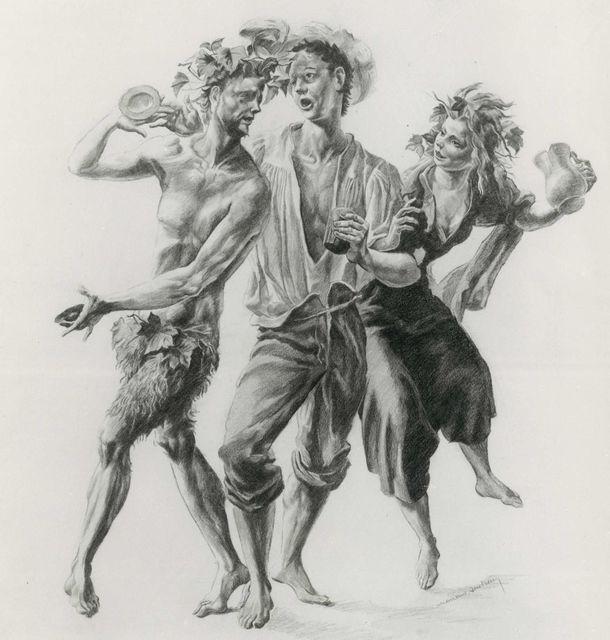 , 'Groupe de Vendanges,' ca. 1943, Artur Ramon Art
