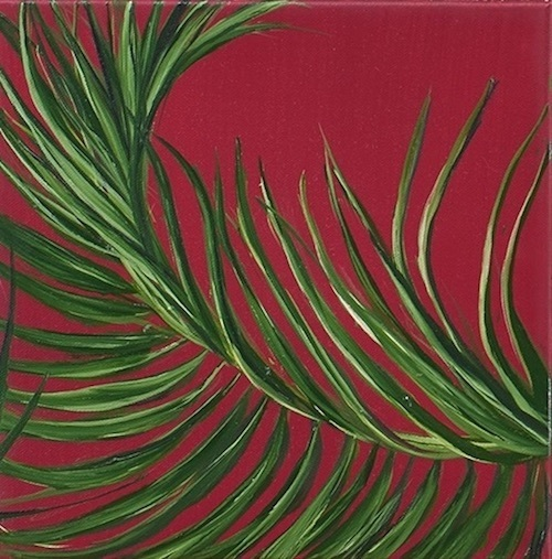 Allison Green, 'Tropical Study 5', 2017, Painting, Oil on canvas, Susan Eley Fine Art