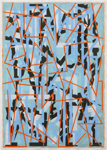 , 'Blue Gantry,' 1986, David Richard Gallery