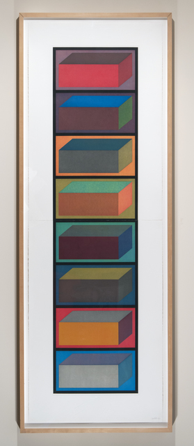 , 'Eight Cubic Rectangles,' 1994, Adamar Fine Arts