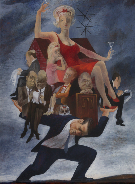 , 'The Divorce,' , Debra Force Fine Art