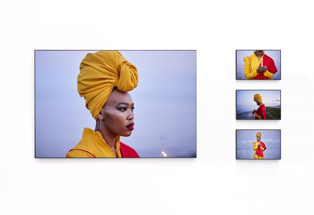 Lhola Amira, 'iNyembezi zomKhathilibe / lágrimas do universo', 2019, SMAC