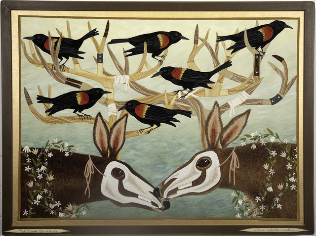 , 'Red Winged Blackbirds,' 2013, Antieau Gallery