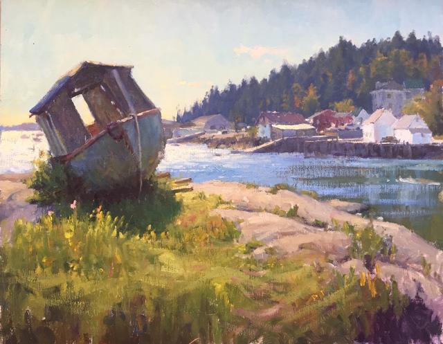 , 'Abandoned Boat - Stonington,' 2016, Grenning Gallery
