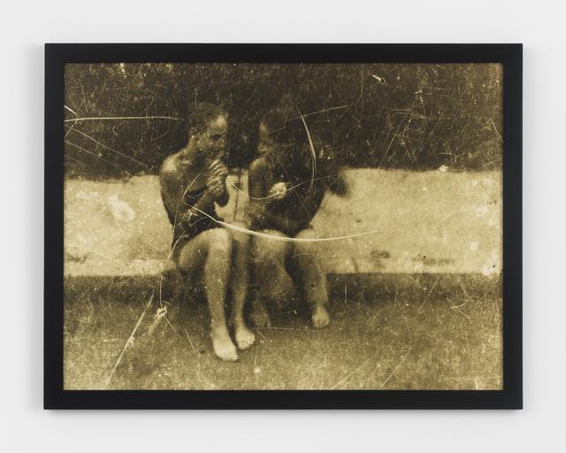 , 'Girls on Curb,' 1985, Magenta Plains