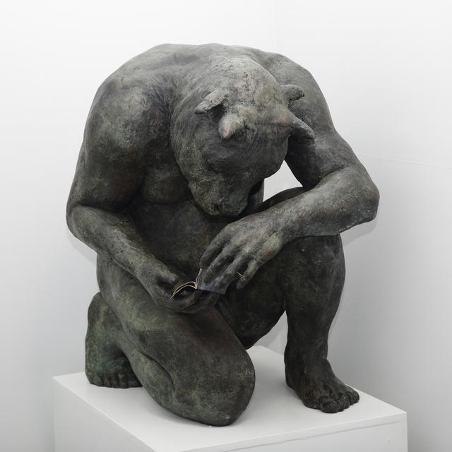 Beth Carter, 'Crouching Minotaur (giant)', Hugo Galerie