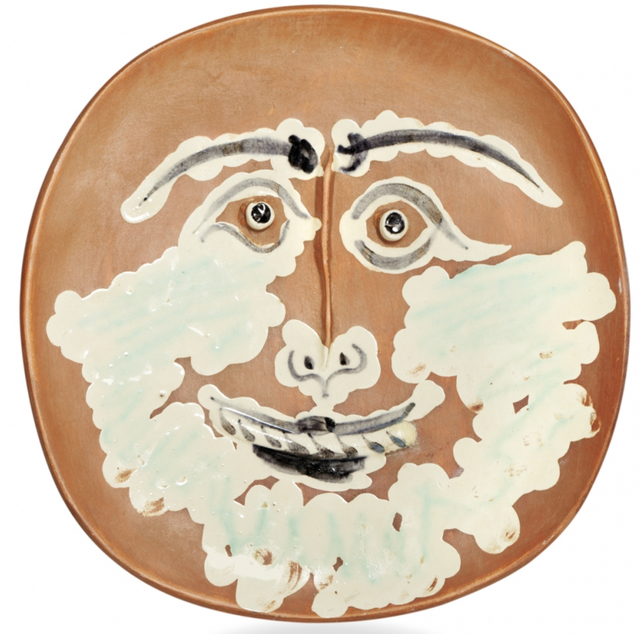 , 'Visage barbu,' 1959, BAILLY GALLERY