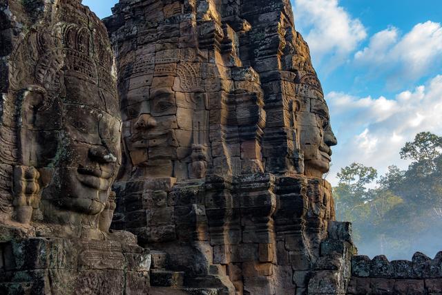 William Frej, 'Bayon Temple, Angkor Thom, Cambodia', 2016, Peyton Wright Gallery