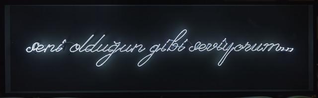 Hayal Incedogan, 'Seni Olduğun Gibi Seviyorum', Daire Gallery