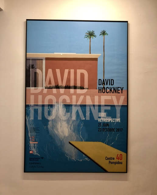 David Hockney, 'A Bigger Splash ', 2017, Mr & Mrs Clark's