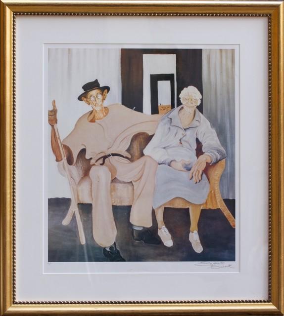 Elizabeth Durack, 'Golden Wedding ', 1935-2000, Print, Wentworth Galleries