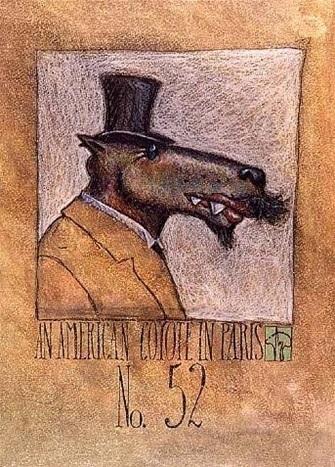 Markus Pierson, 'American Coyote in Paris #52', Contessa Gallery