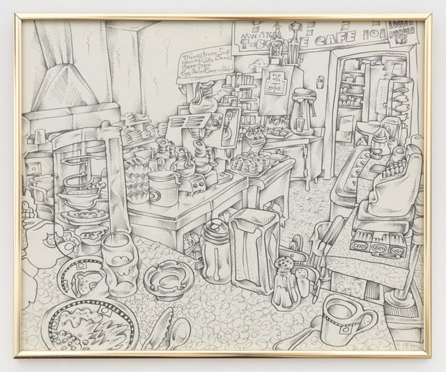 , 'T-Bone Cafe 101,' 1976, P.P.O.W