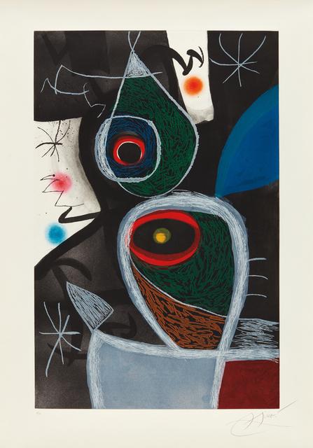 Joan Miró, 'Le Somnambule (The Sleepwalker)', 1974, Phillips