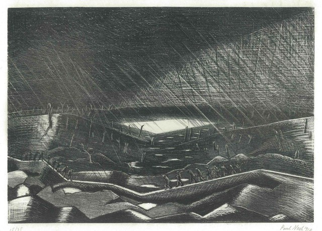 , 'Lake Zillebeke,' 1917, The Fine Art Society