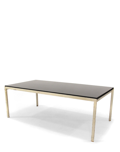 Florence Knoll, 'Cocktail Table', 1950s, Design/Decorative Art, Painted White Steel, Black Laminate Bakelite, Patrick Parrish Gallery