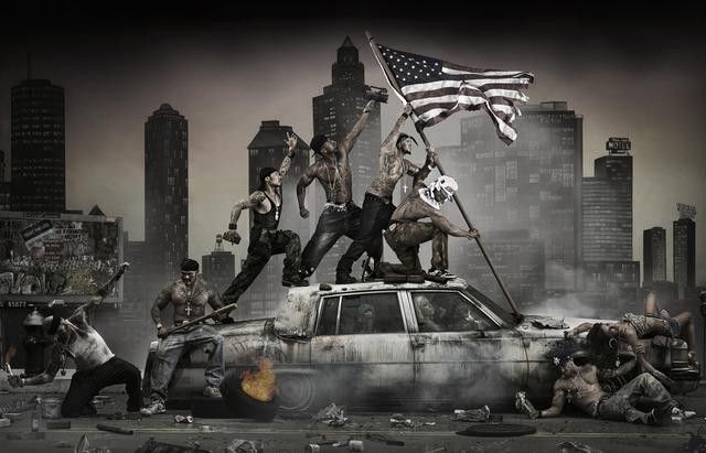 , 'Riots,' 2013, Opera Gallery