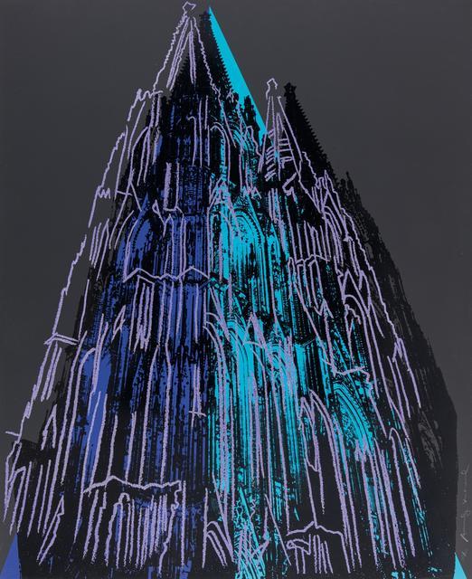Andy Warhol, 'Cologne Cathedral', 1985, Van Ham