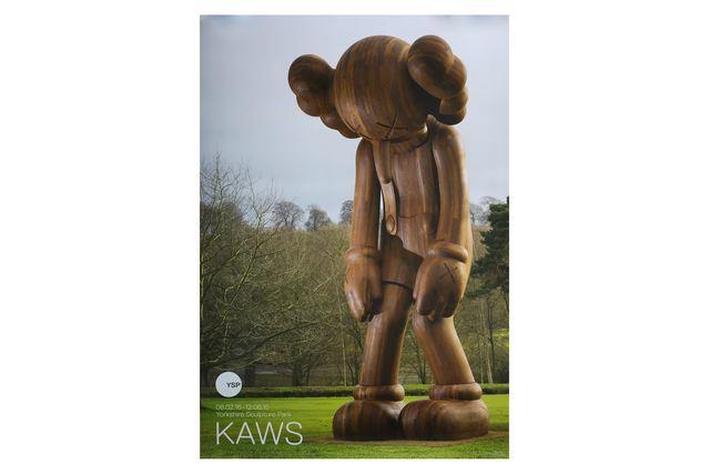 KAWS, 'Yorkshire Sculpture Park Exhibition Poster & Catalogue', 2016, Posters, Offset print & catalogue booklet, Chiswick Auctions